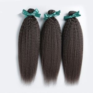 Kinky Straight Virgin hair bundle
